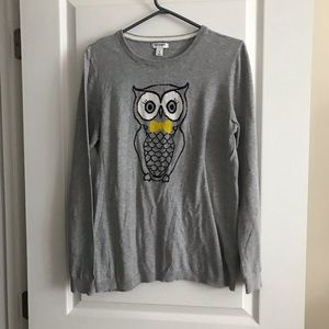 Old Navy Owl thin sweater large